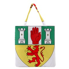 County Antrim Coat Of Arms Grocery Tote Bag by abbeyz71