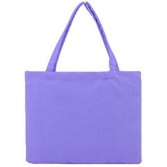 Neon Color   Light Persian Blue Mini Tote Bag by tarastyle