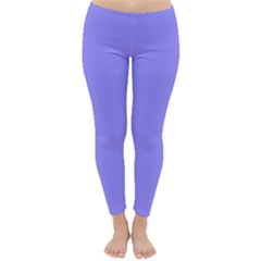Neon Color - Light Persian Blue Classic Winter Leggings by tarastyle