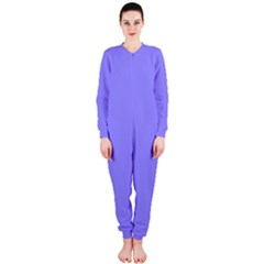 Neon Color   Light Persian Blue Onepiece Jumpsuit (ladies)  by tarastyle