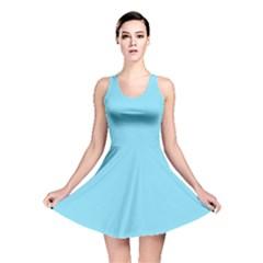 Neon Color   Luminous Vivid Blue Reversible Skater Dress by tarastyle