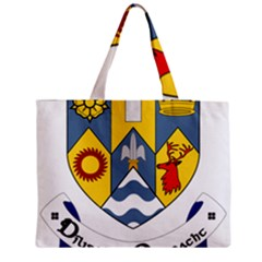 County Clare Coat Of Arms Medium Zipper Tote Bag by abbeyz71