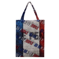 Marine Le Pen Classic Tote Bag by Valentinaart