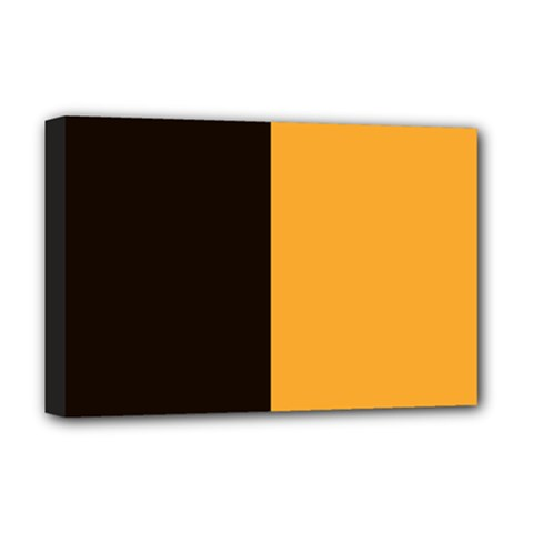 Flag Of County Kilkenny Deluxe Canvas 18  X 12   by abbeyz71