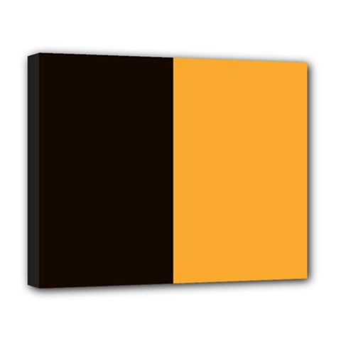 Flag Of County Kilkenny Deluxe Canvas 20  X 16   by abbeyz71
