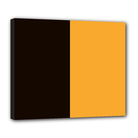 Flag Of County Kilkenny Deluxe Canvas 24  X 20   by abbeyz71