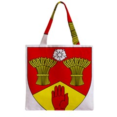 County Londonderry Coat Of Arms Zipper Grocery Tote Bag by abbeyz71