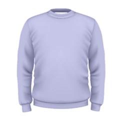 Pastel Color   Light Bluish Gray Men s Sweatshirt by tarastyle
