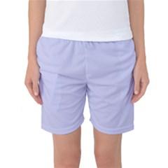 Pastel Color - Light Bluish Gray Women s Basketball Shorts by tarastyle
