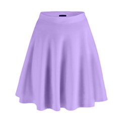 Pastel Color   Pale Blue Violet High Waist Skirt by tarastyle