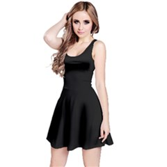 Black Gothic Reversible Sleeveless Dress by Costasonlineshop