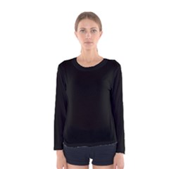 Black Gothic Women s Long Sleeve Tee by Costasonlineshop