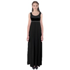 Black Gothic Empire Waist Maxi Dress by Costasonlineshop