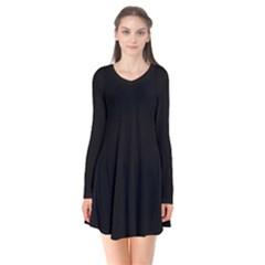 Black Gothic Flare Dress by Costasonlineshop