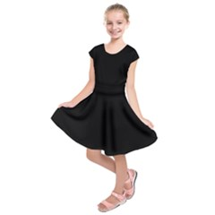 Black Gothic Kids  Short Sleeve Dress by Costasonlineshop