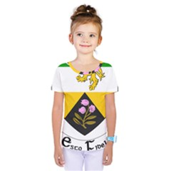 County Offaly Coat Of Arms  Kids  One Piece Tee by abbeyz71