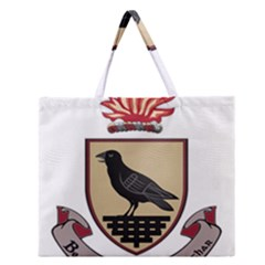 County Dublin Coat Of Arms  Zipper Large Tote Bag by abbeyz71