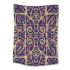 Tribal Ornate Pattern Medium Tapestry by dflcprints