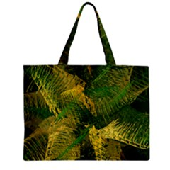 Green And Gold Abstract Mini Tote Bag by linceazul