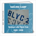 Ben Sailing Album - 8x8 Photo Book (30 pages)