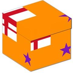 Flag Of The Orange Order Storage Stool 12   by abbeyz71