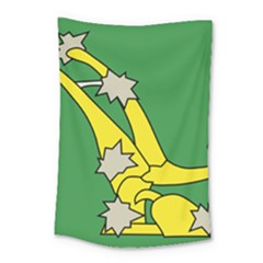 Starry Plough Flag  Small Tapestry by abbeyz71
