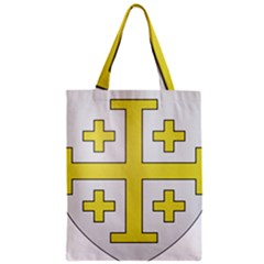 The Arms Of The Kingdom Of Jerusalem  Zipper Classic Tote Bag by abbeyz71