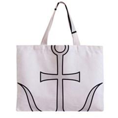 Anchored Cross Mini Tote Bag by abbeyz71