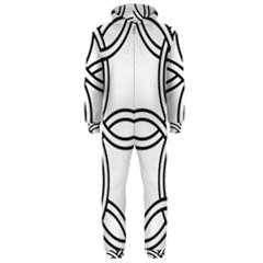 Carolingian Cross Hooded Jumpsuit (men)  by abbeyz71
