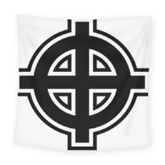 Celtic Cross Square Tapestry (large) by abbeyz71