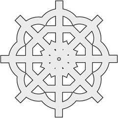 Celtic Cross  Straight Umbrellas by abbeyz71