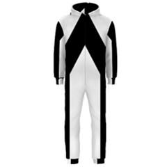 Forked Cross Hooded Jumpsuit (men)  by abbeyz71