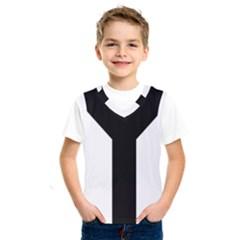 Forked Cross Kids  Sportswear by abbeyz71