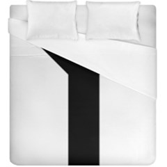 Forked Cross Duvet Cover (king Size) by abbeyz71