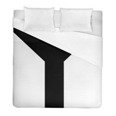 Forked Cross Duvet Cover (full/ Double Size) by abbeyz71