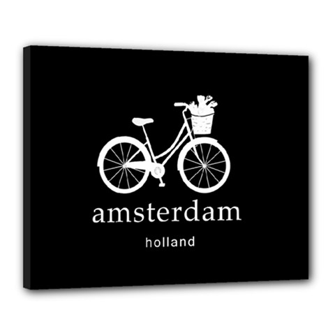 Amsterdam Canvas 20  X 16  by Valentinaart