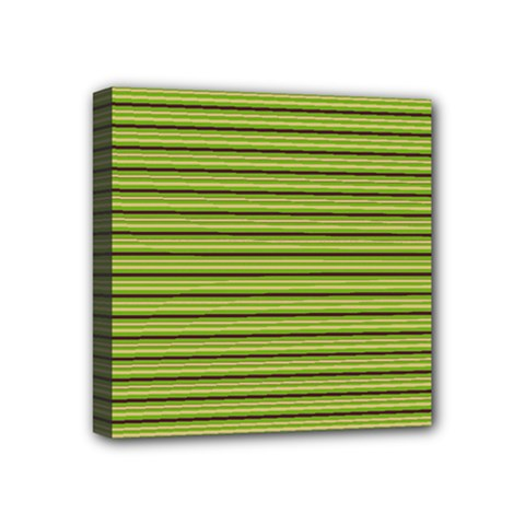Decorative Lines Pattern Mini Canvas 4  X 4  by Valentinaart