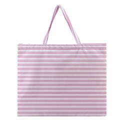 Decorative Line Pattern Zipper Large Tote Bag by Valentinaart