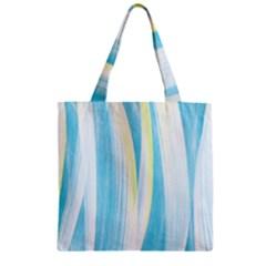 Artistic Pattern Zipper Grocery Tote Bag by Valentinaart