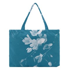 Autumn Crocus Blue Medium Tote Bag by DeneWestUK