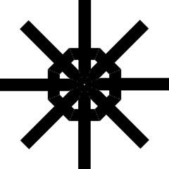 Latin Cross  Straight Umbrellas by abbeyz71