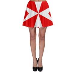 Cross Of The Order Of St  John  Skater Skirt by abbeyz71