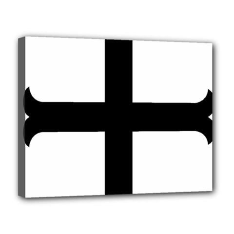 Cross Molin Canvas 14  X 11  by abbeyz71