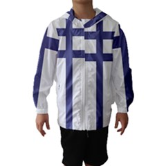 Patriarchal Cross Hooded Wind Breaker (kids) by abbeyz71