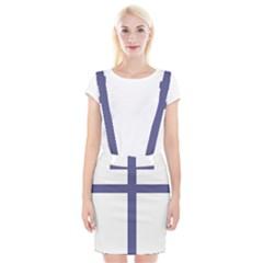 Patriarchal Cross Braces Suspender Skirt by abbeyz71