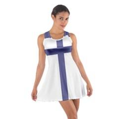 Patriarchal Cross Cotton Racerback Dress by abbeyz71