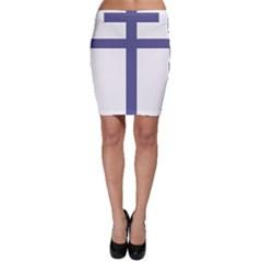 Patriarchal Cross  Bodycon Skirt by abbeyz71