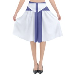 Patriarchal Cross  Flared Midi Skirt by abbeyz71