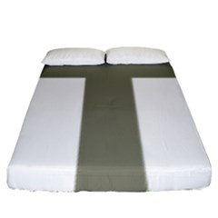Cross Of Loraine Fitted Sheet (king Size) by abbeyz71