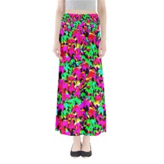 Colorful Leaves Maxi Skirts by Costasonlineshop